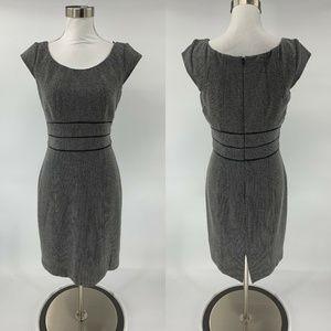 White House Black Market Sheath Dress Houndstooth